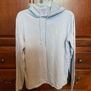 Men's small polo pullover